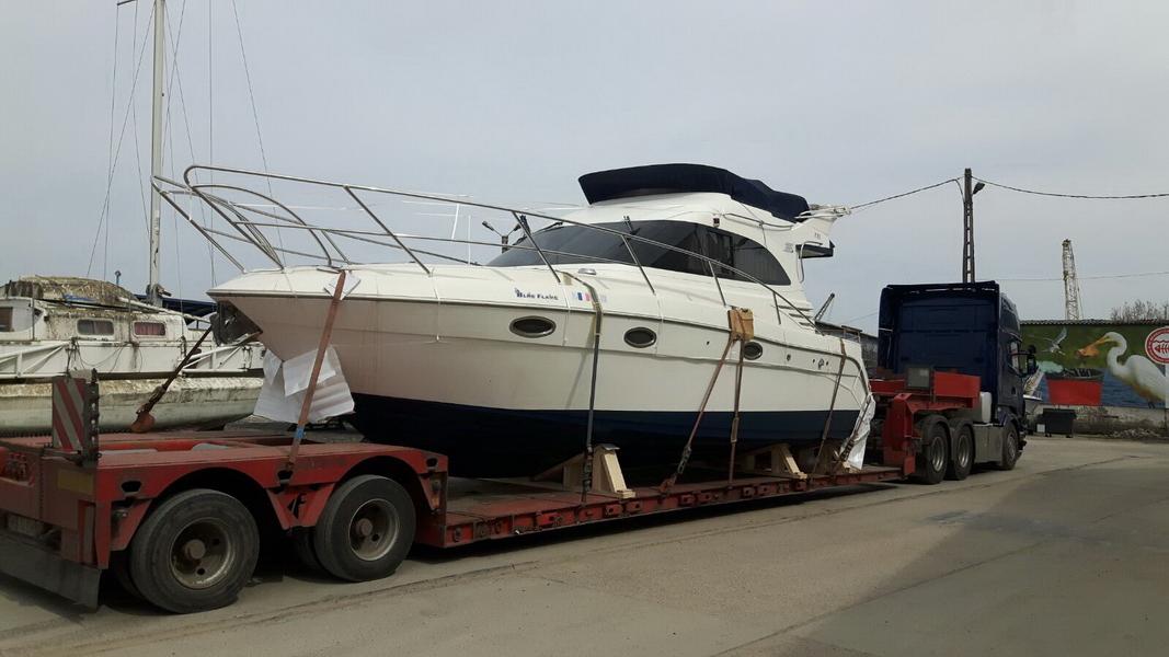 Transport yacht Romania Spania